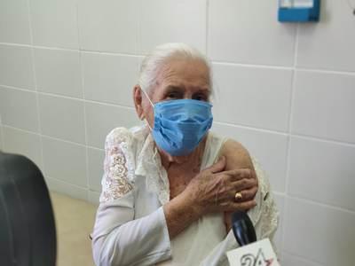 Долгожительница Елабуги Лидия Горбунова сделала прививку от коронавируса
